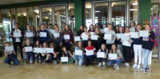 54 französische Sprachdiplome DELF am Wilhelmsgymnasium