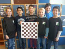 WG-Schachmannschaft in der Endrunde zum Hessischen Mannschaftswettbewerb