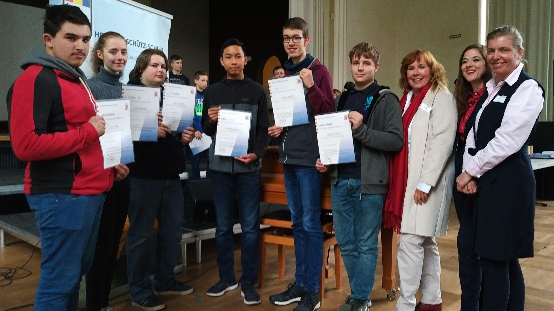 Schulsieger Stadt Kassel MWB 8
