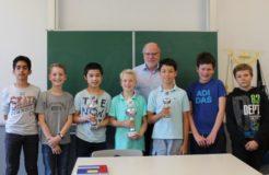 Maximilian Sturm ist Schach-AG-Meister